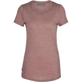 Icebreaker Sphere Low Crewe T-shirt Dames, suede